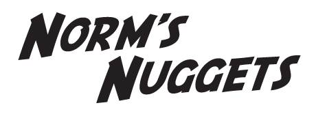 Norm's Nuggets